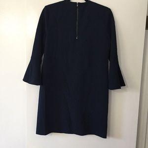 Tibi Dresses - SALE Tibi Crepe Sheath Shift Bell Sleeve dress